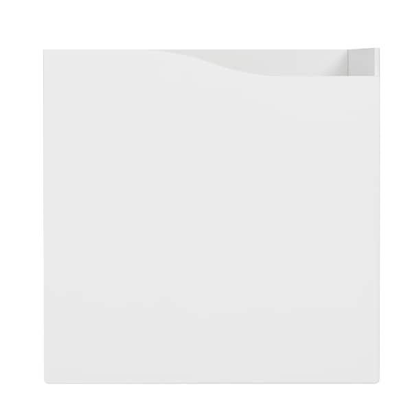 KALLAX Acessório c/porta, branco, 33x33 cm