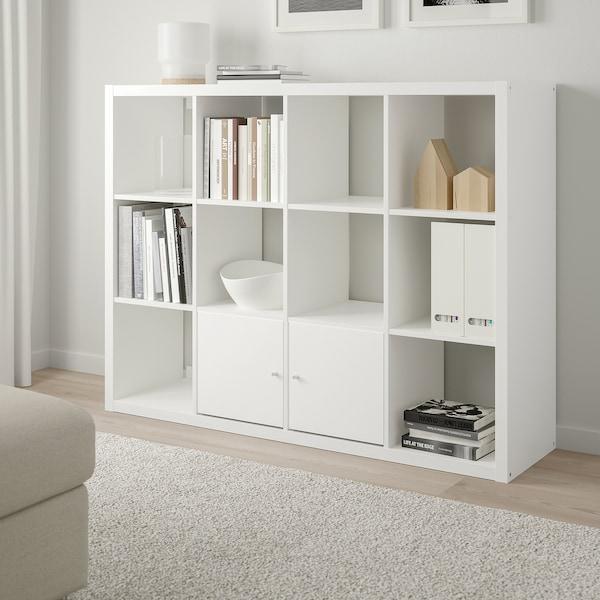 KALLAX Estante, branco, 112x147 cm