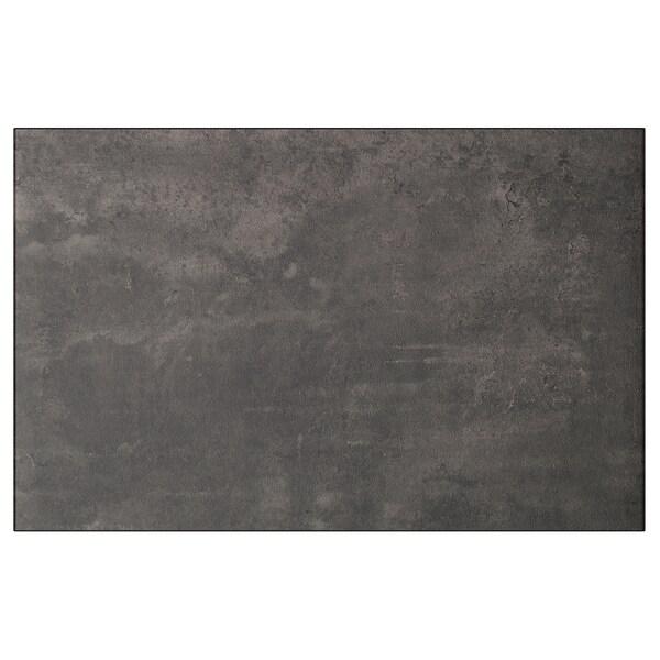 KALLVIKEN Porta/frente gaveta, cinz esc efeito betão, 60x38 cm