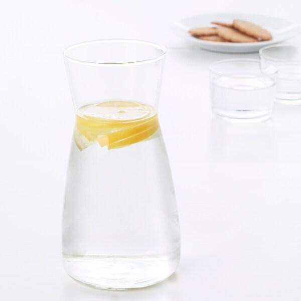 KARAFF garrafa de mesa vidro transparente 20 cm 10.5 cm 1.0 l