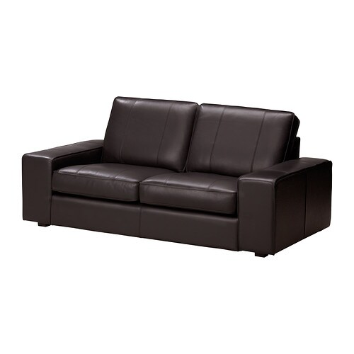Kivik sof 2 lugares grann bomstad castanho escuro ikea - Ver sofas en ikea ...