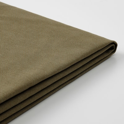 KLIPPAN Capa p/sofá 2 lugares, Vissle verde amarelado