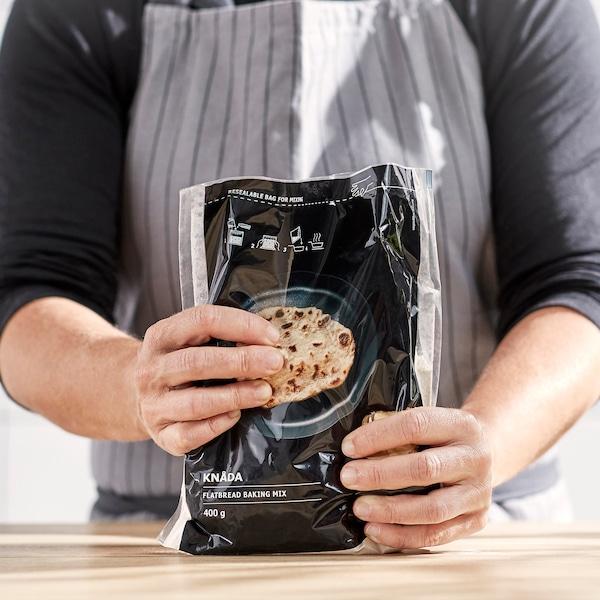 KNÅDA Preparado p/pão achatado, 400 gr