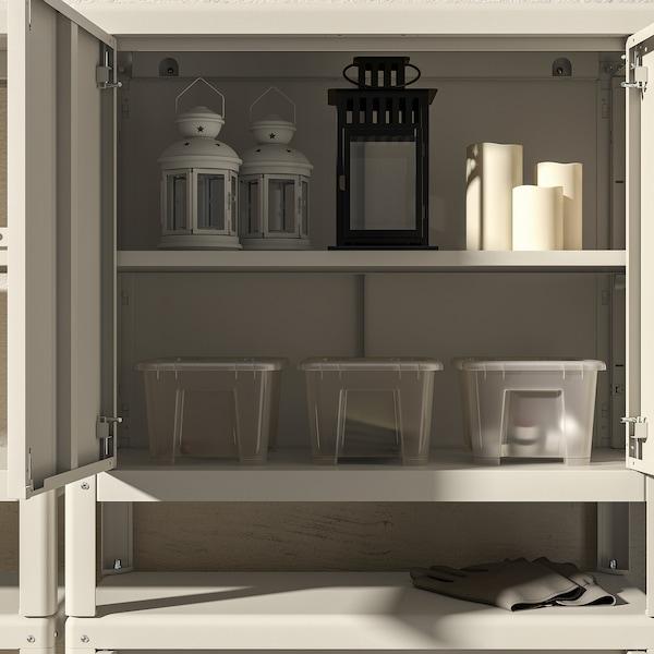 KOLBJÖRN Armário int/ext, bege, 80x161 cm