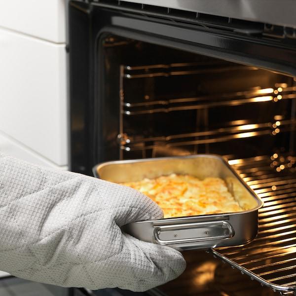 KONCIS Tabuleiro p/forno, aço inoxidável, 26x20 cm