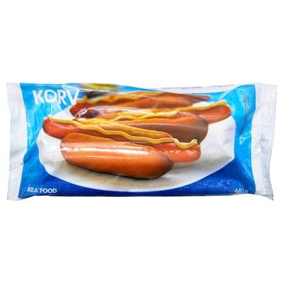 KORV Salsichas, congeladas
