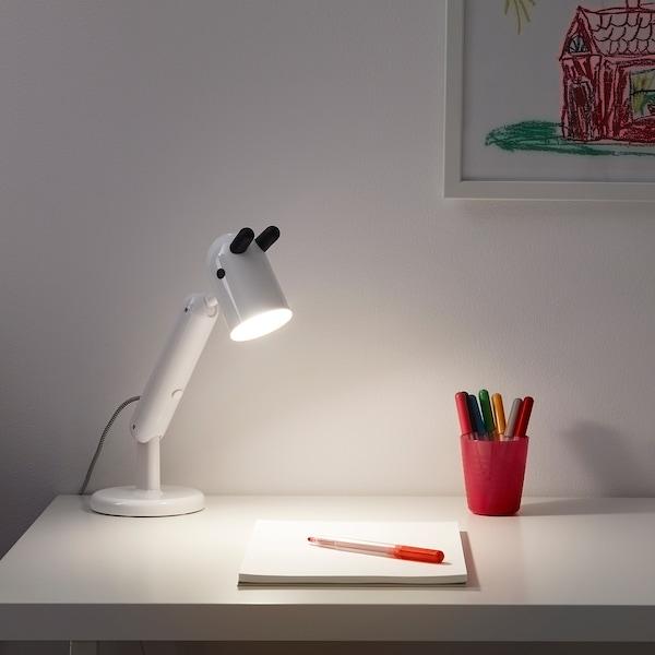 KRUX Candeeiro LED de secretária, branco