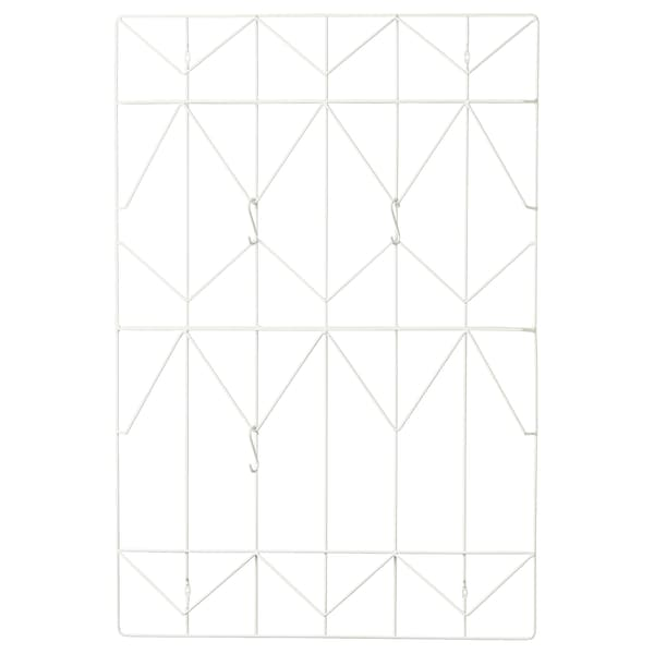 KVICKSUND Quadro p/mensagens, branco, 58x86 cm