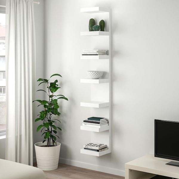LACK Estante de parede, branco, 30x190 cm