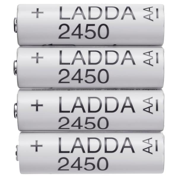 LADDA Pilha recarregável, HR6 AA 1.2V