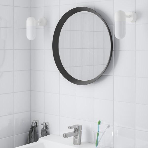 LANGESUND Espelho, cinz esc, 50 cm