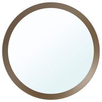 LANGESUND espelho bege 50 cm