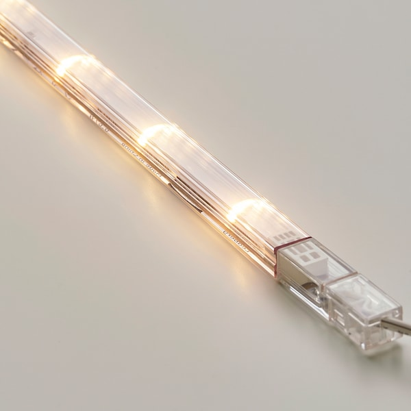 LEDBERG Calha de iluminação LED, branco