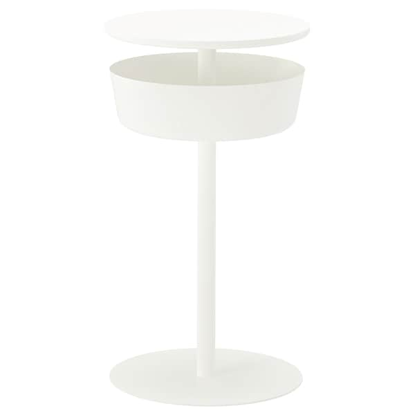 LIERSKOGEN mesa de cabeceira branco 74 cm 42 cm