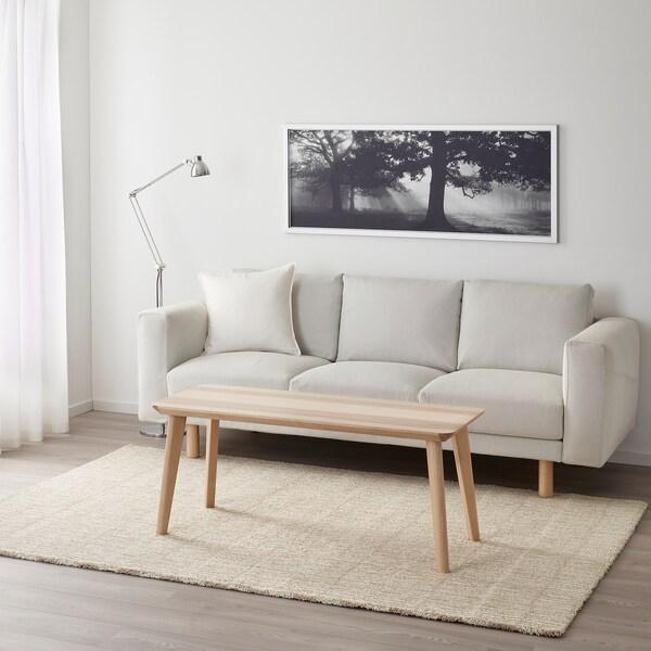 LINDELSE tapete pelo comprido cru/bege 240 cm 170 cm 18 mm 4.08 m² 3040 gr/m² 1500 gr/m² 14 mm
