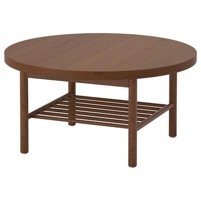 LISTERBY mesa de centro castanho 45 cm 90 cm