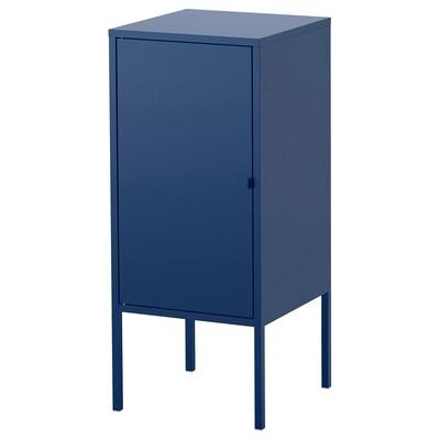 LIXHULT armário metal/azul escuro 60 cm 82 cm 35 cm 35 cm 21 cm 12 kg