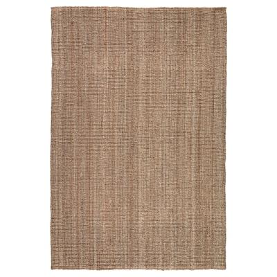 LOHALS Tapete, tecelagem plana, cru, 160x230 cm