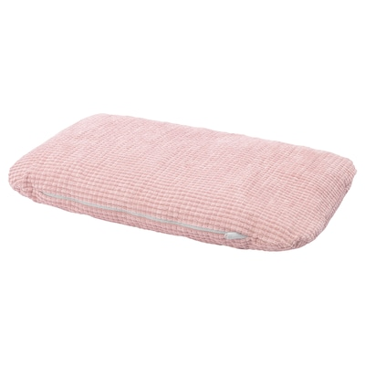 LURVIG Almofada, rosa, 46x74 cm
