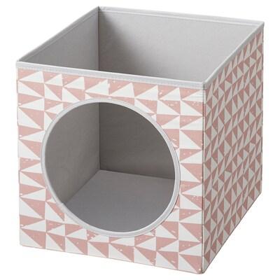 LURVIG Casa p/gato, rosa, 33x38x33 cm