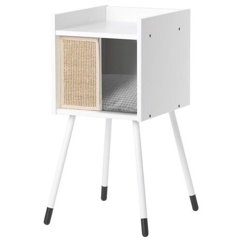 IKEA LURVIG Casa c/pernas p/gatos c/almof