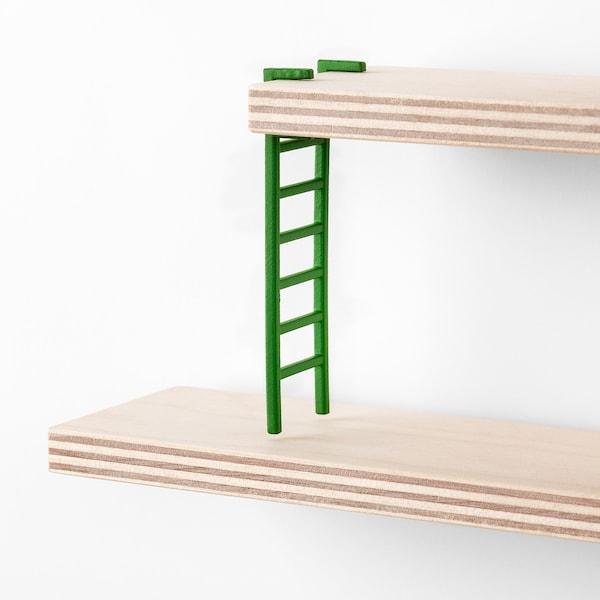LUSTIGT estante de parede 37 cm 6 cm 37 cm 400 gr 2 kg