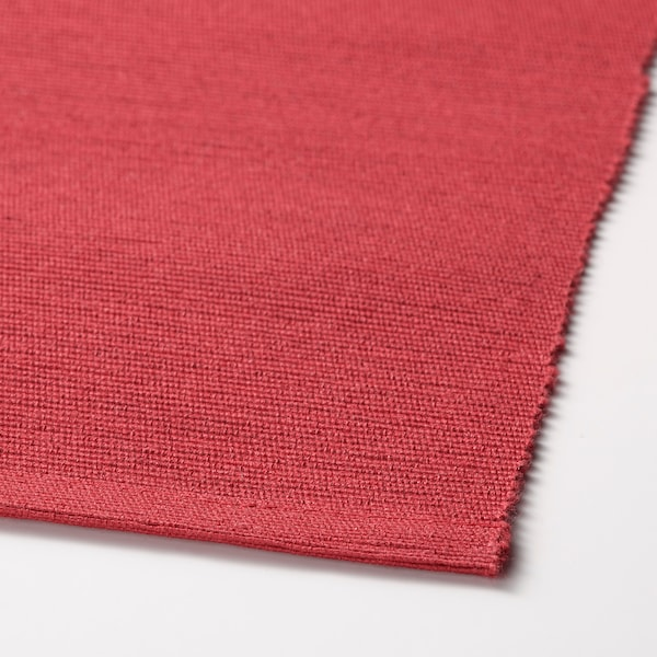 MÄRIT Individual, vermelho escuro, 35x45 cm