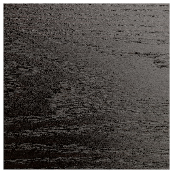 MALM Cómoda c/6 gavetas, pret-cast/vidro espelhado, 40x123 cm