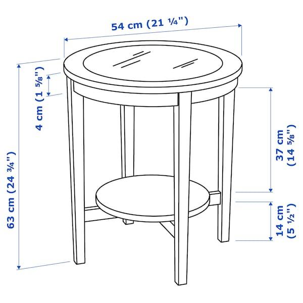 MALMSTA Mesa de apoio, pret-cast, 54 cm
