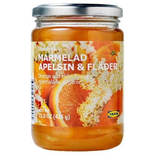 IKEA MARMELAD APELSIN & FLÄDER Geleia laranja+sabugueiro branco