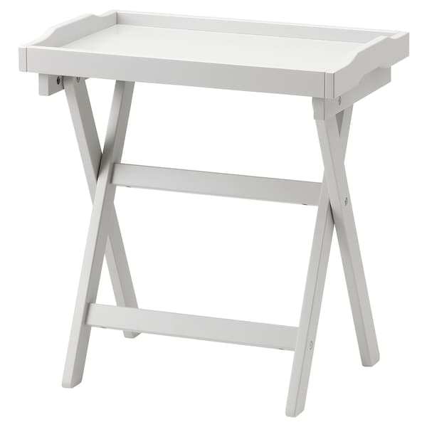 MARYD mesa-tabuleiro cinz 58 cm 38 cm 58 cm