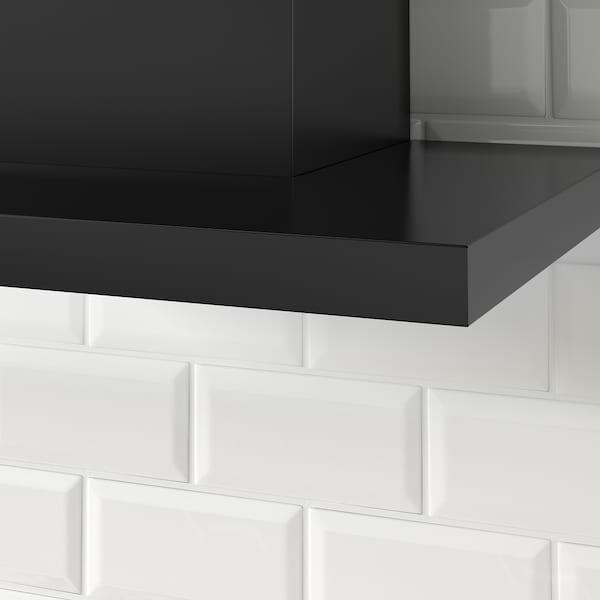 MATÄLSKARE Exaustor de parede, preto, 60 cm