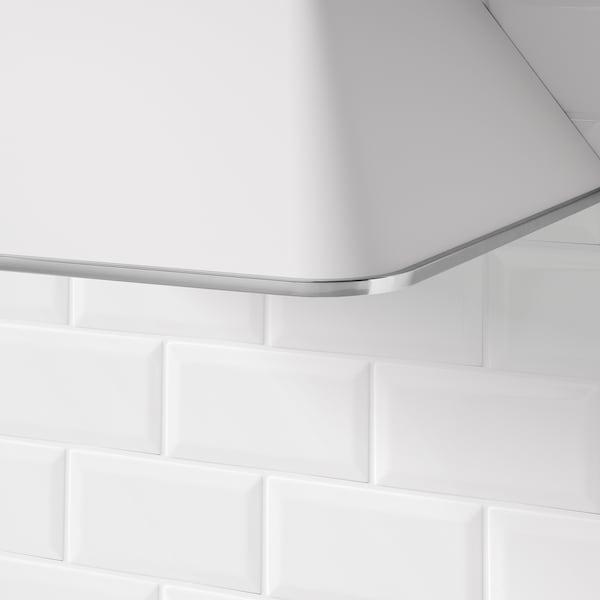 MATTRADITION Exaustor de parede, branco, 60 cm