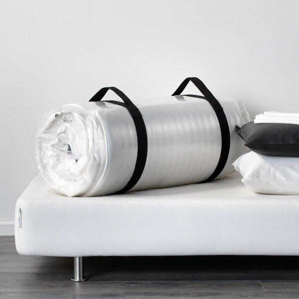 MAURANGER Colchão de espuma, firme/branco, 140x200 cm