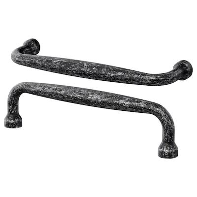 MÖLLARP Puxador, preto, 106 mm