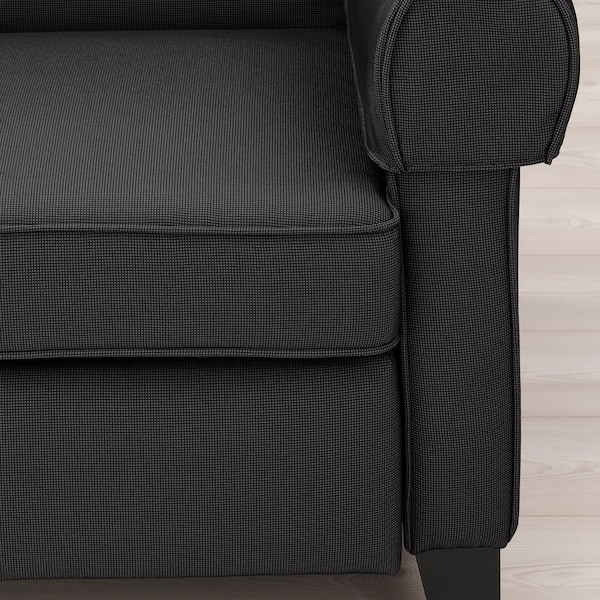 MUREN Poltrona reclinável, Remmarn cinz esc