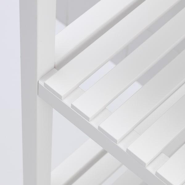 MUSKAN Estante, branco, 37x140 cm