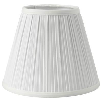 MYRHULT Abajur, branco, 19 cm