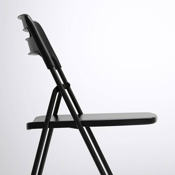 Nisse Cadeira Dobr 225 Vel Preto Ikea