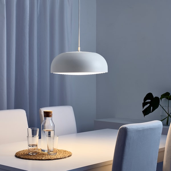 NYMÅNE candeeiro suspenso branco 13 W 40 cm 1.6 m