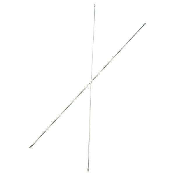 """OBSERVATÖR Suporte """"X"""", galvanizado, 100 cm"""