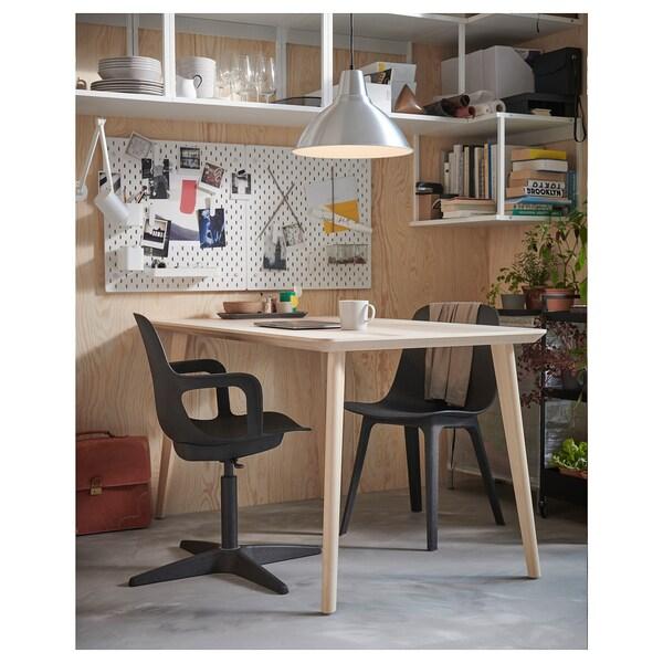 ODGER cadeira giratória antracite 110 kg 68 cm 68 cm 90 cm 45 cm 45 cm 43 cm 54 cm