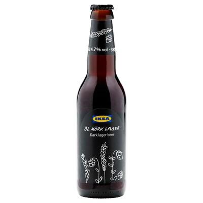 ÖL MÖRK LAGER Cerveja preta lager 4.7%