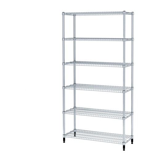 IKEA OMAR 1 secção de prateleira