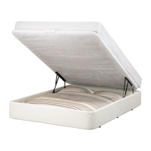 Rje estrutura cama c arruma o 160x200 cm ikea - Camas de ikea ...