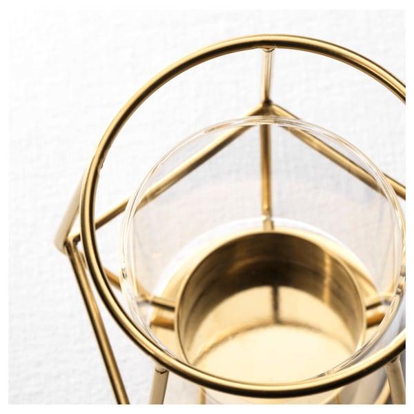 PÄRLBAND Porta-velas, 10 cm