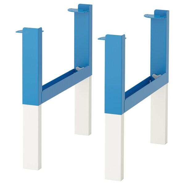 PÅHL Estrutura inferior p/tampo, azul
