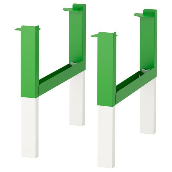 PÅHL Estrutura inferior p/tampo, verde