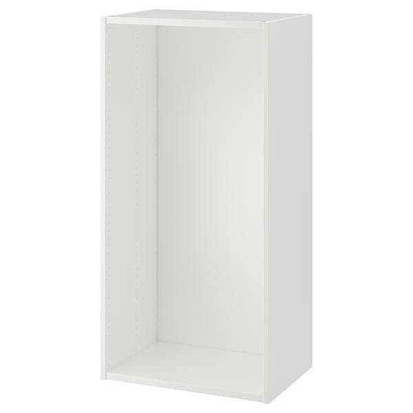 PLATSA Estrutura, branco, 60x40x120 cm
