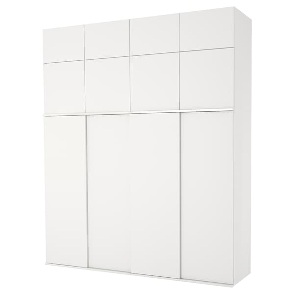 PLATSA roupeiro branco/Fonnes branco 240 cm 61 cm 281.1 cm